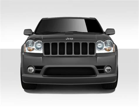 Front Bumper For 2005 Jeep Grand Jeep Grand 2005 2007 Duraflex Srt Look Front