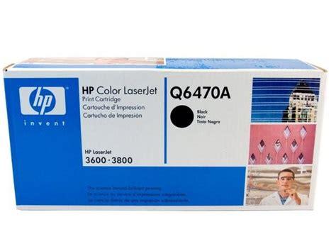 Toner Hp Q6470a hp 501a black toner cartridge genuine q6470a inkdepot