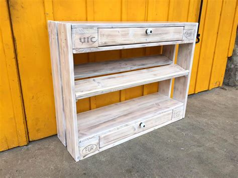 diy shoe drawer pallet shoe rack and chest of drawers