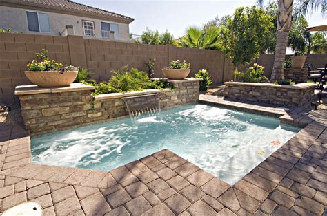 pools for small yards cocktail pools starting at 19 500 tax california