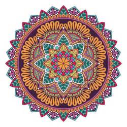 colorful mandala a colorful mandala vector free