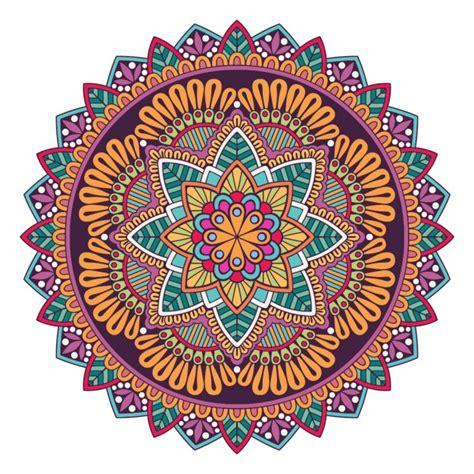 colorful mandala a colorful mandala vector free