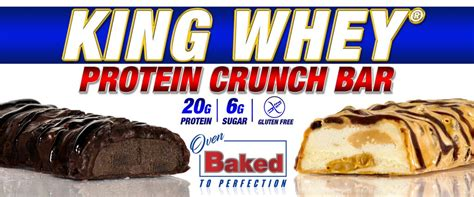 Ronnie Coleman King Whey 5 Lbs Supplement Fitness king whey protein crunch bar by ronnie coleman 20g protein