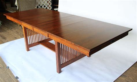 Mission Style Dining Table 10 Foot Mission Style Dining Table At 1stdibs