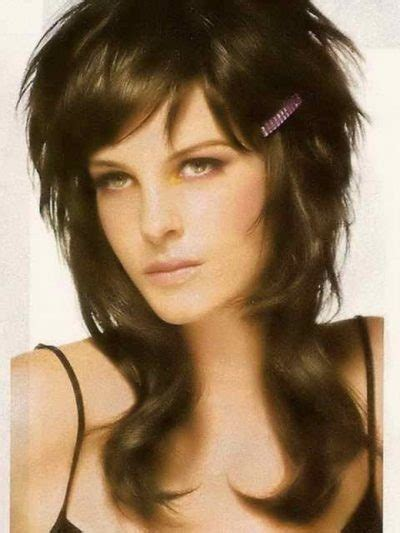 Womens Stylish Mullet   womens stylish mullet 2015 black mullet hairstyle with