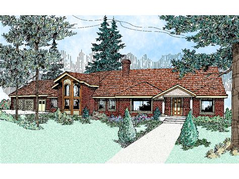 balmoral traditional ranch home plan 085d 0474 house plans