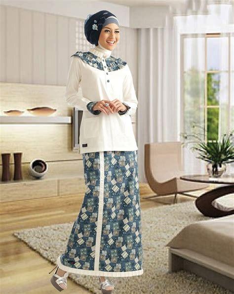 Baju Muslim Wanita Baju Atasan Raya Tunik Inner Tunik Nyatu model baju batik wanita modern terbaru batik tulis indonesia