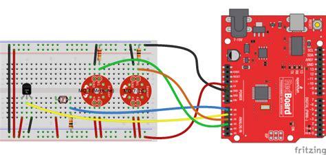 photoresistor sparkfun datalogging with arduino and xbee wifi learn sparkfun