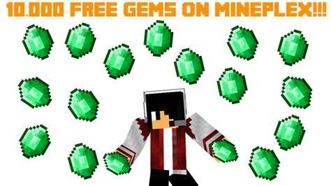 minecraft 10 000 free gems on mineplex 2016 working