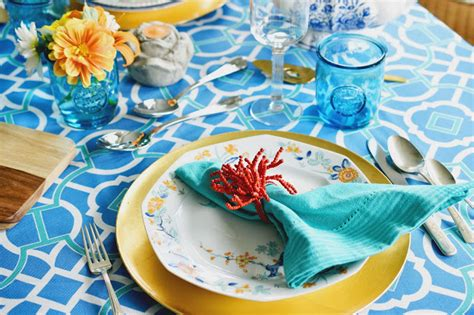 summer table settings in real the of the everyday 5 tips to create a pretty mix and match summer table