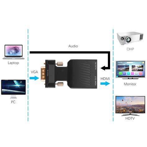 format audio tv hd vga input male to hdmi hd 1080p video audio tv av hdtv
