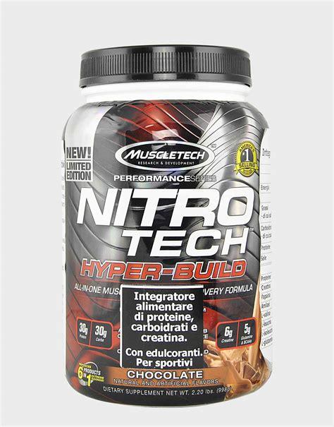 Nitrotech Muscletech Ready nitro tech hyper build performance series by muscletech 998 grams 33 99