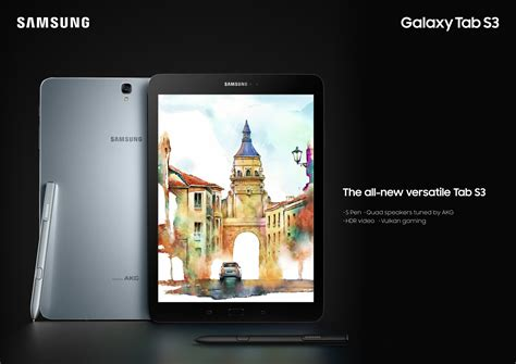 Samsung Tab S3 Di Malaysia samsung launches stylish and versatile galaxy tab s3 in india samsung india newsroom