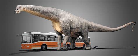 Art Projects by Damir G Martin Argentinosaurus Vs Bus
