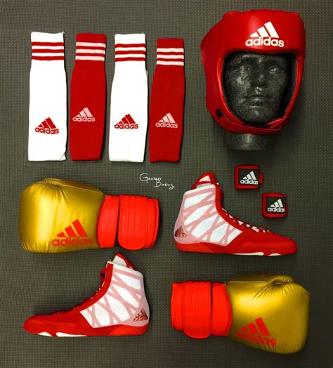 Adidas Kombo Blue adidas sparring combo featuring the new adidas pretereo