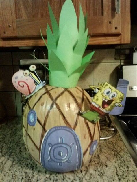 free spongebob painting painted spongebob pumpkin cooper s pins