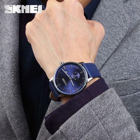 Jam Tangan Pria Jam Tangan Cowok Reddington Chrono Original Brown skmei jam tangan analog pria 9083cl blue jakartanotebook