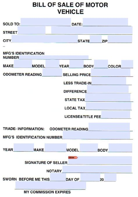 printable tennessee vehicle bill of sale free cumberland county tennessee vehicle bill of sale
