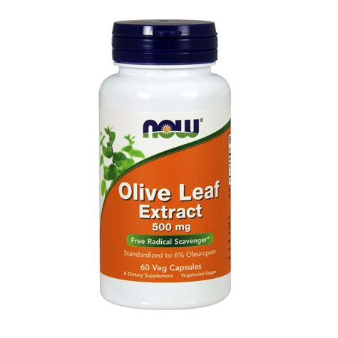 Olive Leaf Detox For Dogs by Now Foods Olive Leaf Extract 60 Vcapsules Evitamins