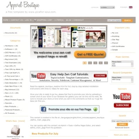 free zen cart templates zen cart tip archives page 8 of 25 zen cart tutorials