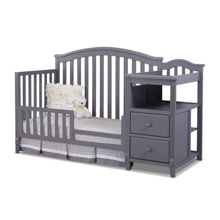 sorelle berkley 4 in 1 crib reviews sorelle berkley 4 in 1 crib and changer gray walmart