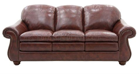 mahogany leather sofa mahogany top grain leather classic living room sofa w options