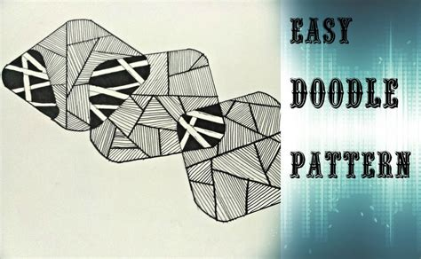 doodle patterns youtube easy doodle pattern youtube