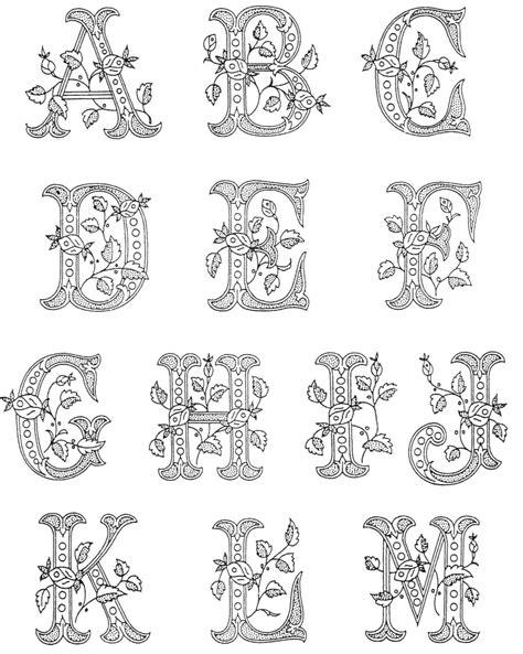 black and white pattern letter im 225 genes del abecedario dibujos de letras para colorear