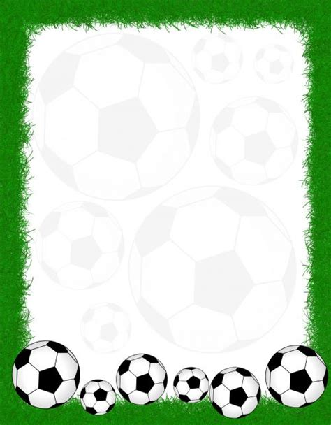 printable soccer stationery soccer writing paper soccer awesome and handwriting