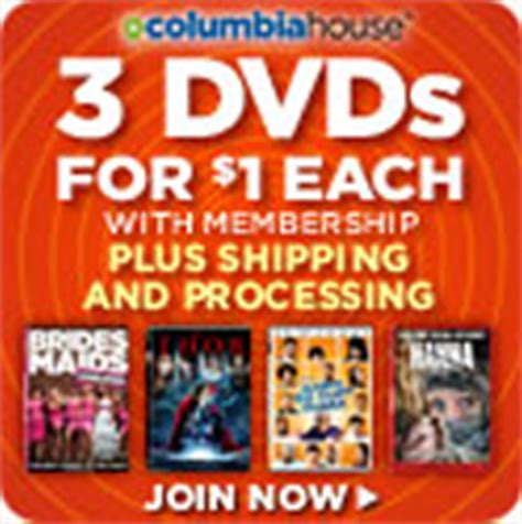 Columbia House Dvd Club