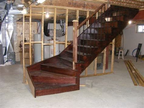 Basement Staircase Installation Costs Updated Prices In 2018 Building Basement Stairs