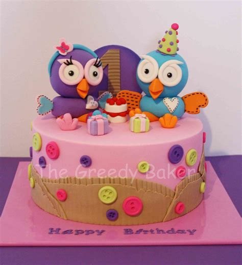 Handcrafted Cakes - hoot hootabelle cake all handcrafted i seen this