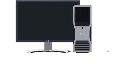 desktop pc clip art  clkercom vector clip art
