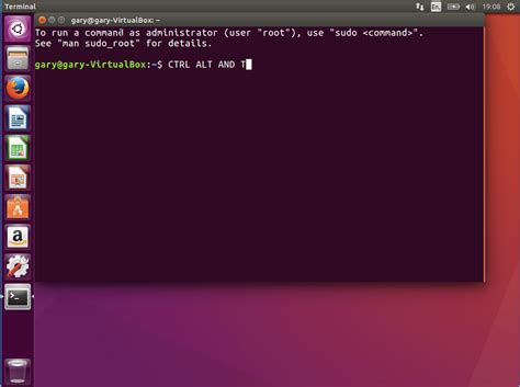 tutorial ubuntu terminal commands 5 ways to open a terminal console window using ubuntu