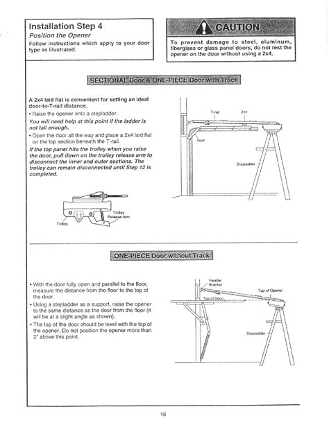 Craftsman Garage Door Opener Repair Manual Craftsman Garage Door Opener Manual 41a5021 3b Prinole