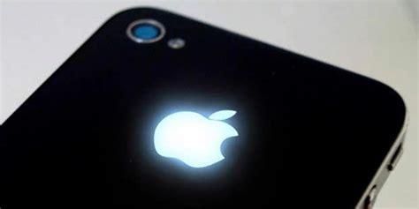 membuat logo apple logo apple di iphone bisa menyala info dan berita