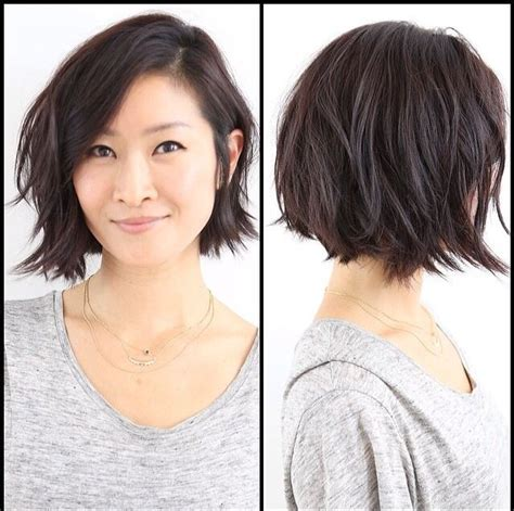 how to cut mussy bob 25 best ideas about short shaggy bob on pinterest
