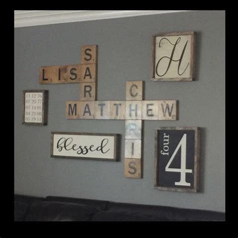 scrabble tile wall best 25 scrabble wall ideas on scrabble