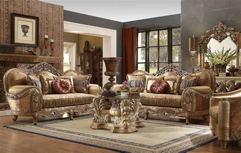 Formal Living Room Sets by New Formal Luxury Classic European Style 5 Living