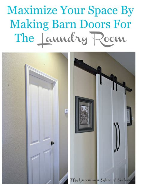 laundry room doors barn doors for the laundry room