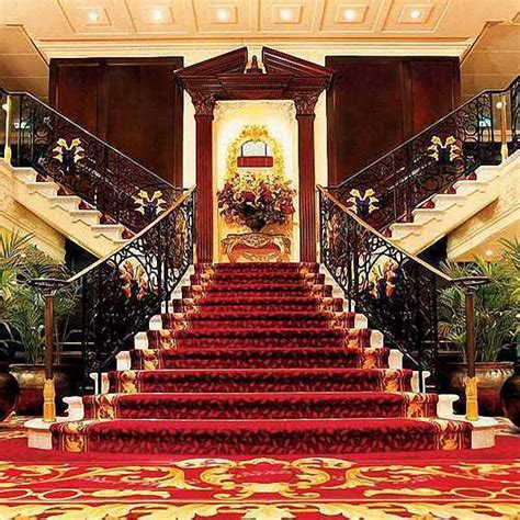 background ruangan grand staircase 8 x8 cp backdrop computer painted scenic