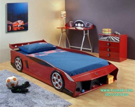 ranjang tidur anak bentuk mobil tempat tidur anak bentuk