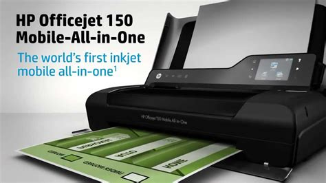 Reset Hp Officejet 150 Mobile | nouvelle imprimante hp officejet 150 mobile aio youtube