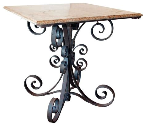 Iron Table Ls Wrought Iron Table Ls Charleston 48 In Wrought Iron Table Patio Dining Ornamental Forged