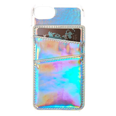 Where Can You Buy Claire Gift Cards - holographic card holder phone case claire s us