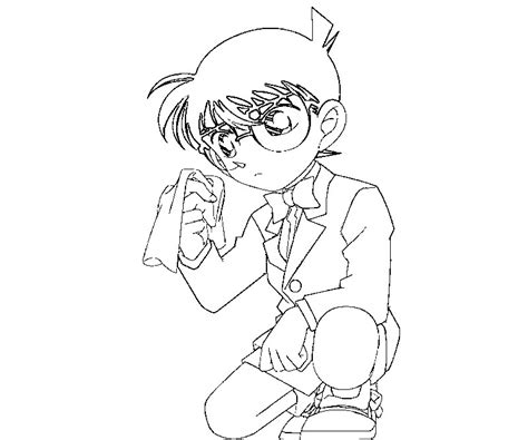 Games Detective Conan Coloring Pages Free Coloring Pages Detective Conan Coloring Pages