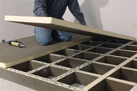 wohnzimmer podest podest aus leichtbauplatten