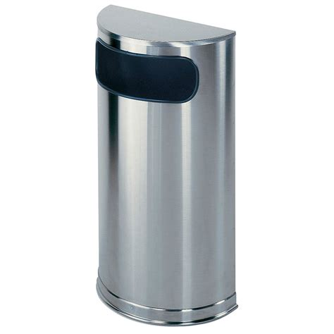 Decorative Trash Cans by Rubbermaid Fgso8ssspl 9 Gal Indoor Decorative Trash Can
