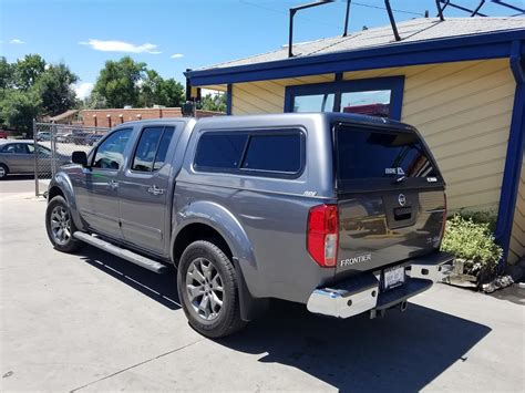 nissan frontier bed cap 2016 frontier are cx series kad gray suburban toppers