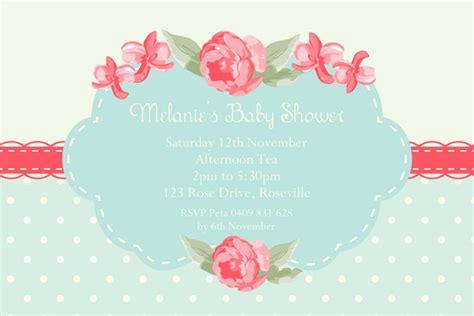 Shabby Chic Baby Shower Invitations by Shabby Chic Baby Shower Invitations Dolanpedia